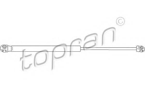 TOPRAN 112067 Газовая пружина, крышка багажник