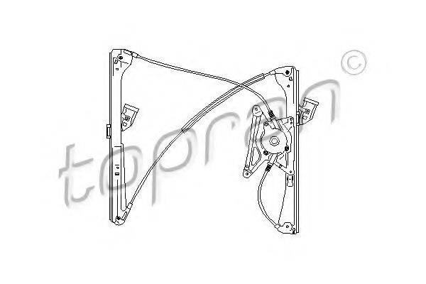 TOPRAN 110453 Подъемное устройство для окон