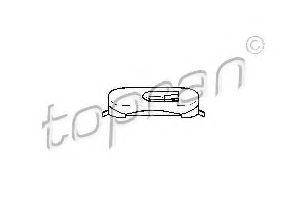 TOPRAN 111493 Зажим, молдинг / защитная накладка