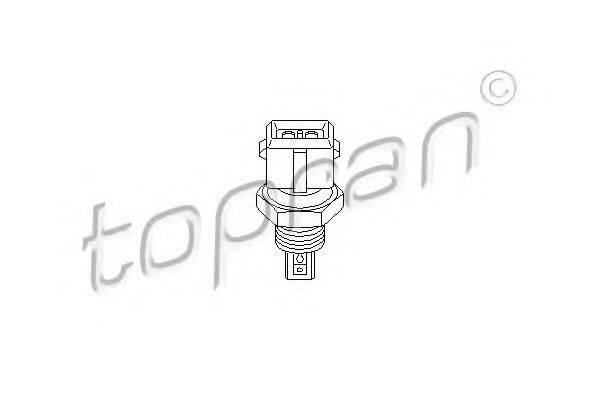 TOPRAN 107332 Датчик, температура впускаемого воздуха