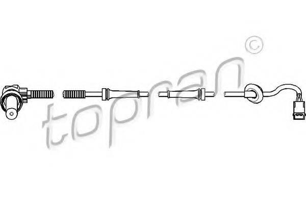TOPRAN 109926 Датчик, частота вращения колеса