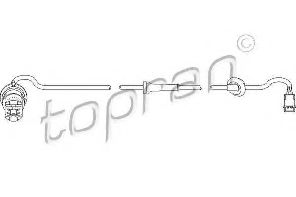TOPRAN 110486 Датчик, частота вращения колеса