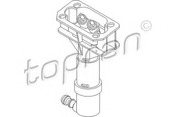 TOPRAN 111412 Распылитель воды для чистки, система очистки фар