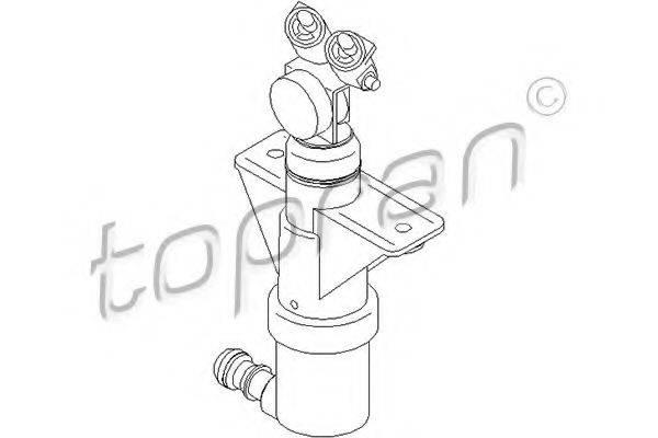 TOPRAN 111411 Распылитель воды для чистки, система очистки фар