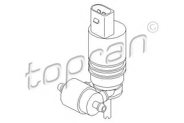 TOPRAN 107819 Водяной насос, система очистки окон
