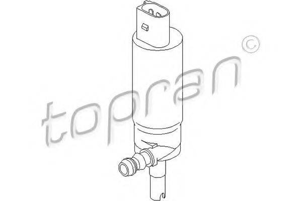 TOPRAN 110472 Водяной насос, система очистки фар