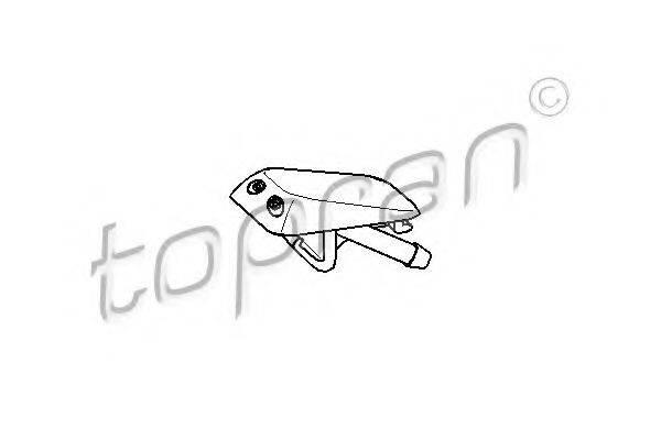 TOPRAN 104439 Распылитель воды для чистки, система очистки окон