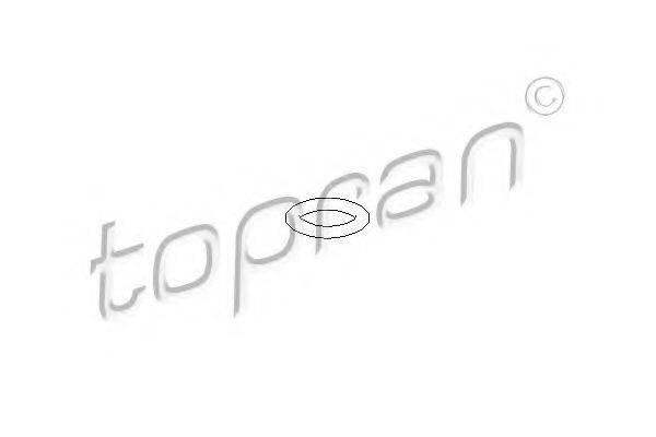 TOPRAN 104529 Уплотнительное кольцо, термовыключ