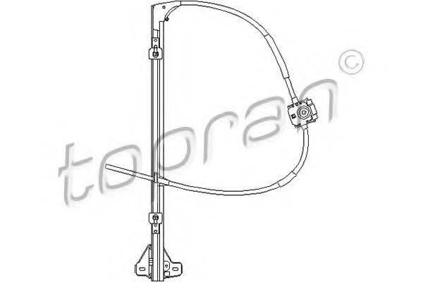 TOPRAN 207357 Подъемное устройство для окон