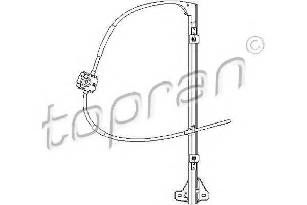 TOPRAN 207358 Подъемное устройство для окон