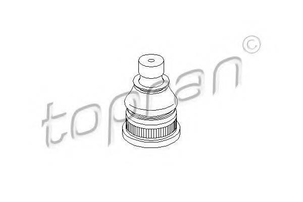 TOPRAN 207168 Несущий / направляющий шарнир
