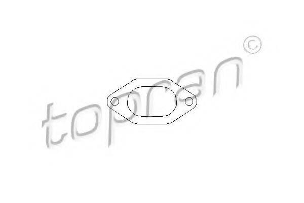 TOPRAN 207544 Прокладка, впускной коллектор