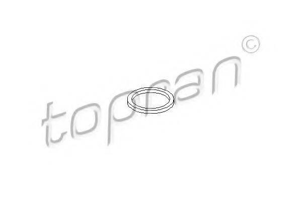 TOPRAN 207582 Уплотнительное кольцо, резьбовая пр