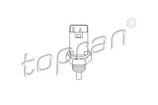 TOPRAN 207064 Датчик, температура охлаждающей жидкости