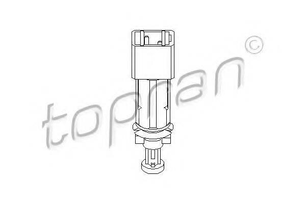 TOPRAN 207195 Выключатель, привод тормоза (механизм газораспределения)
