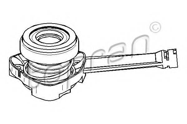 TOPRAN 207122 Центральный выключатель, система сцепления