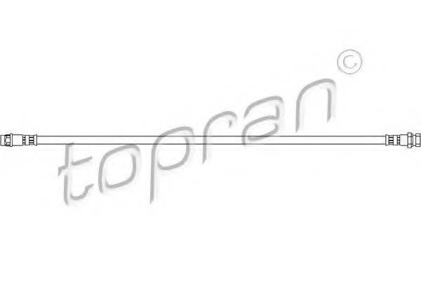 TOPRAN 207227 Тормозной шланг