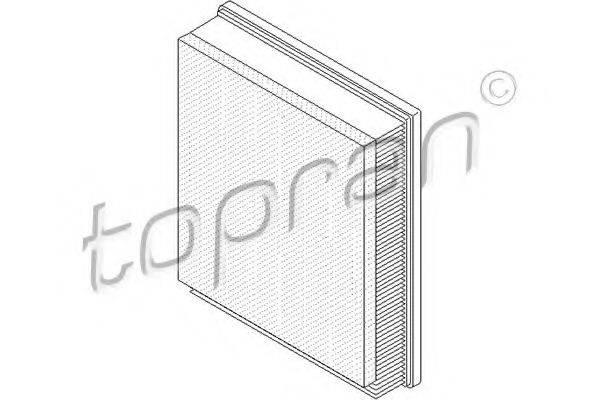 TOPRAN 207542 Воздушный фильтр