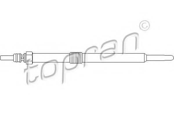 TOPRAN 207046 Свеча накаливания