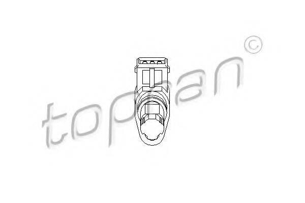 TOPRAN 207504 Датчик частоты вращения, управление двигателем