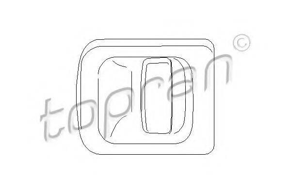 TOPRAN 207355 Ручка двери