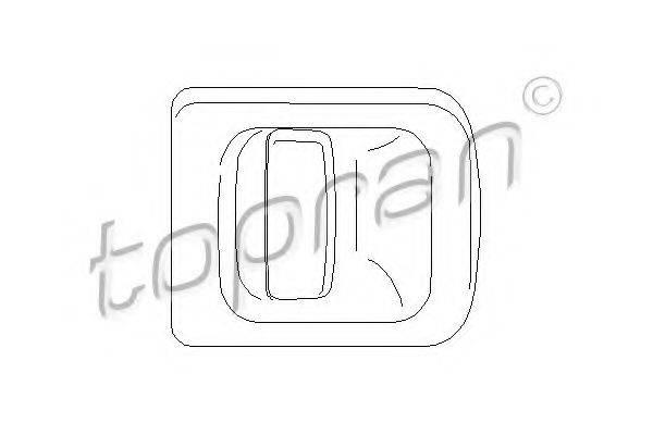 TOPRAN 207356 Ручка двери
