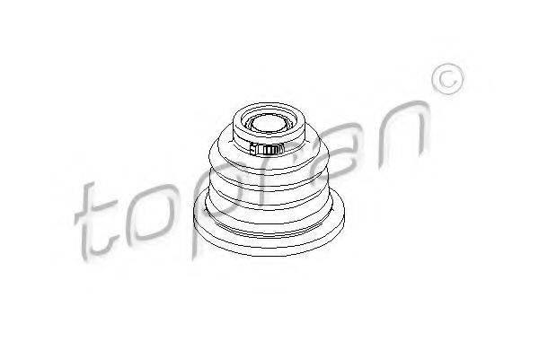 TOPRAN 207496 Комплект пылника, приводной вал
