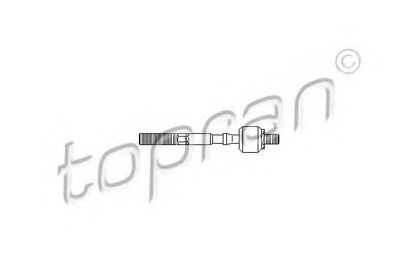 TOPRAN 207149 Осевой шарнир, рулевая тяга