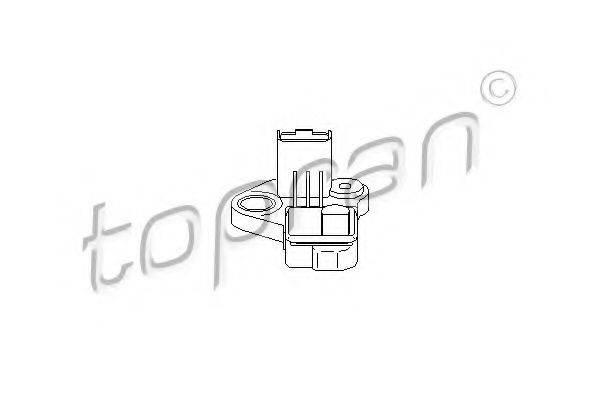 TOPRAN 721685 Датчик частоты вращения, управление двигателем