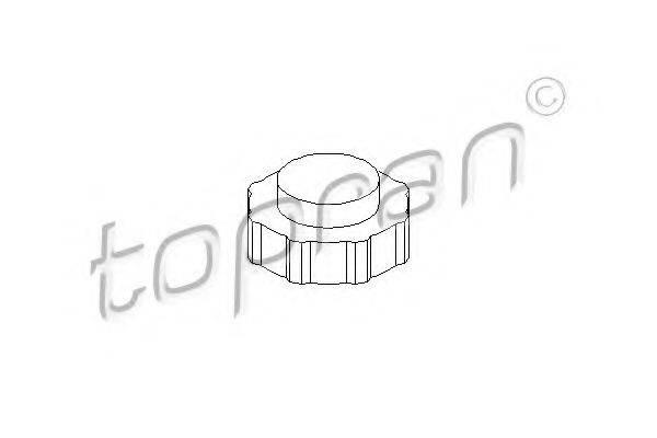 TOPRAN 700431 Крышка, резервуар охлаждающей жидкости