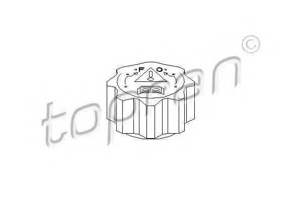 TOPRAN 720173 Крышка, резервуар охлаждающей жидкости
