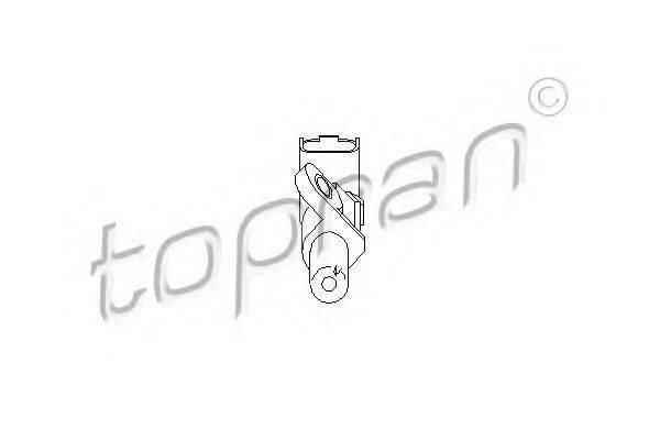 TOPRAN 721697 Датчик частоты вращения, управление двигателем