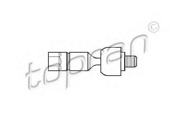 TOPRAN 720409 Осевой шарнир, рулевая тяга