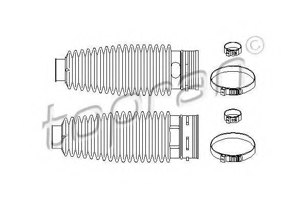 TOPRAN 722171 Комплект пылника, рулевое управление