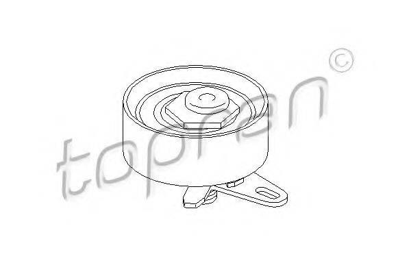 TOPRAN 108223 Натяжной ролик, ремень ГРМ