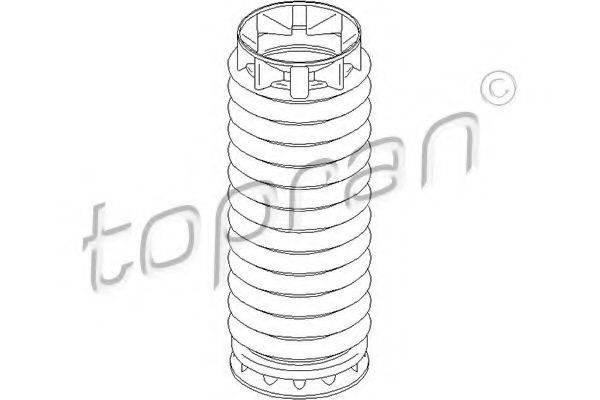TOPRAN 722479 Защитный колпак / пыльник, амортизатор