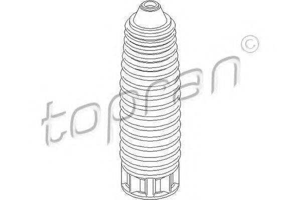 TOPRAN 722480 Защитный колпак / пыльник, амортизатор