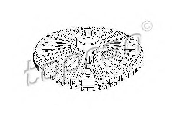 TOPRAN 111436 Сцепление, вентилятор радиатора