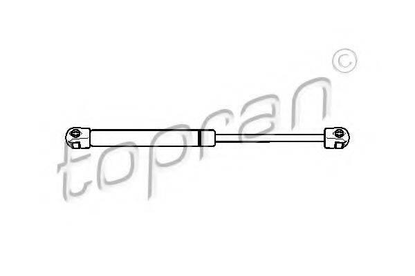 TOPRAN 722583 Газовая пружина, крышка багажник