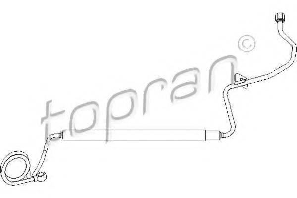 TOPRAN 113361 Гидравлический шланг, рулевое управление