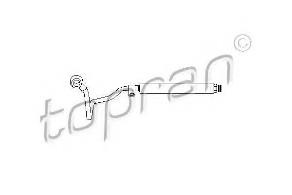 TOPRAN 113360 Гидравлический шланг, рулевое управление