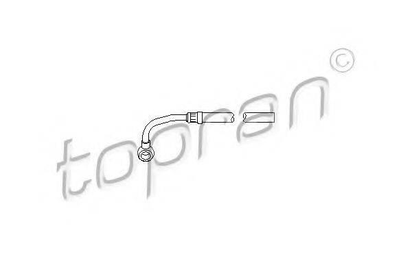 TOPRAN 113355 Гидравлический шланг, рулевое управление