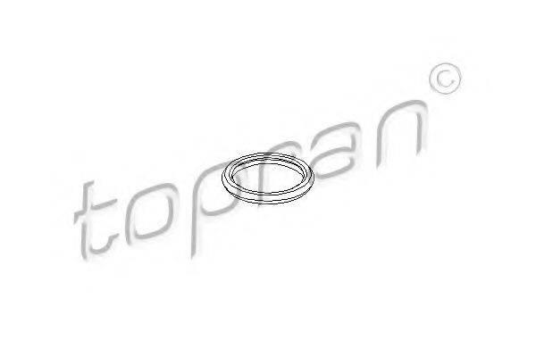 TOPRAN 722822 Прокладка, крышка головки цилиндра