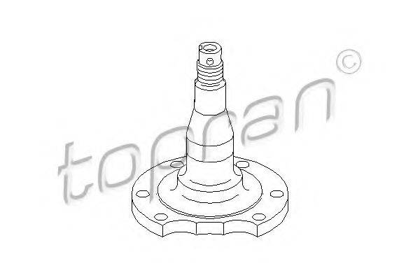 TOPRAN 111407 Ступица колеса