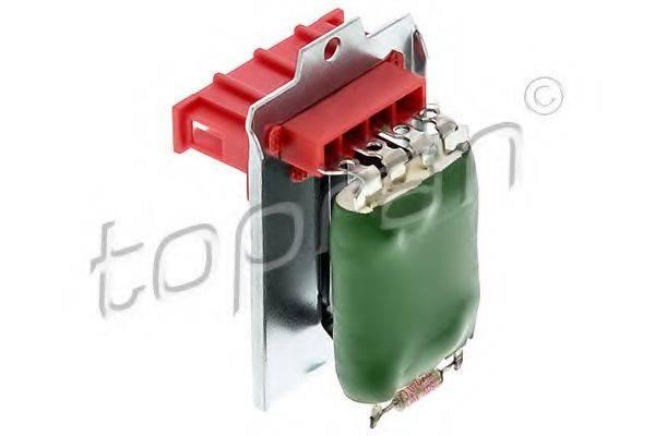 TOPRAN 112216 Сопротивление, вентилятор салона