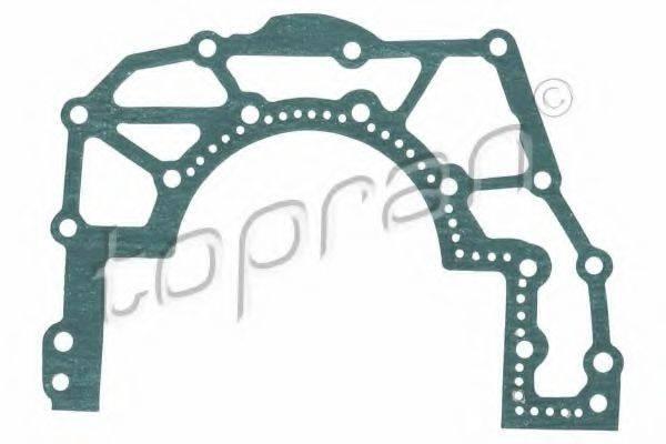 TOPRAN 115673 Прокладка, крышка картера (блок-картер двигателя)