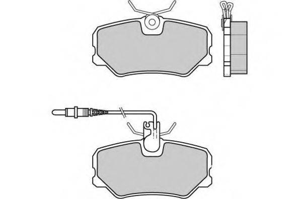 E.T.F. 120379 Комплект тормозных колодок, дисковый тормоз