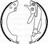 CIFAM 153251Y Комплект тормозных колодок