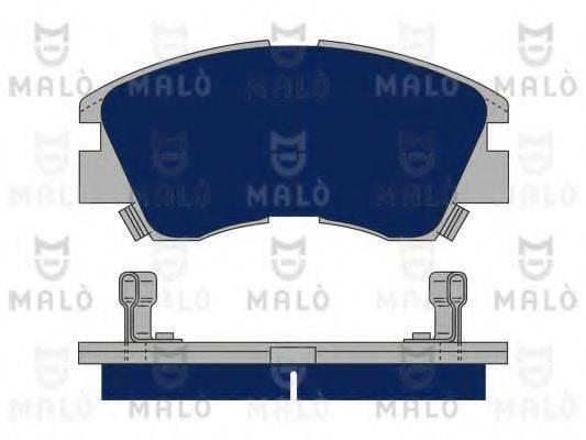 MALO 1050009 Комплект тормозных колодок, дисковый тормоз