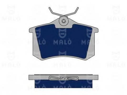 MALO 1050074 Комплект тормозных колодок, дисковый тормоз
